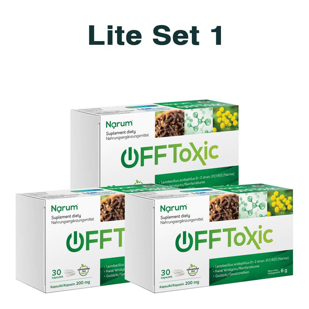 Set Narum auf Basis von Narine - Offtoxic Set No. 1 Lite