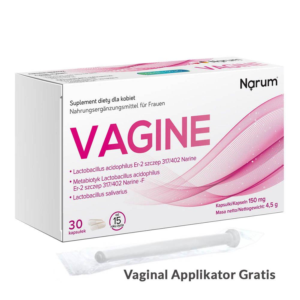 Narum Vagine 150 mg auf Basis von Narine, 30 Kapseln