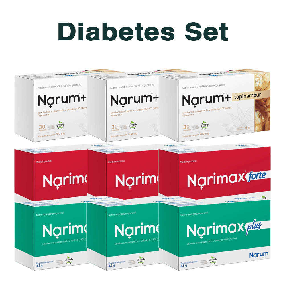 Set Narum auf Basis von Narine - Diabetiker